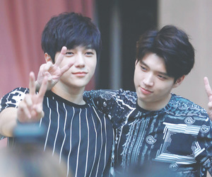 infinite, L, and myungsoo image