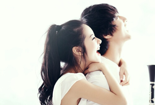 couple, ulzzang, and smile image