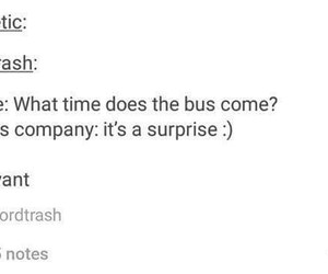 bus, lol, and tumblr image