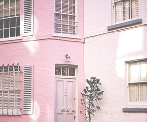 'pink' and 'house' image