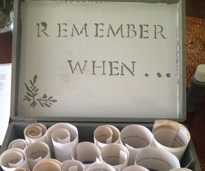 remember, love, and gift image