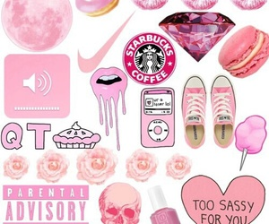 pink, wallpaper, and overlay image