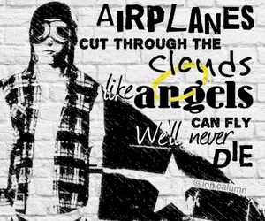 airplanes, luke hemmings, and 5 seconds of summer image
