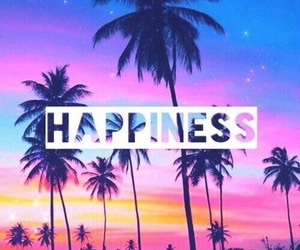 happiness, happy, and palms image