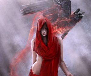 art and red image