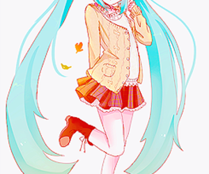 anime, hatsune miku, and kawaii image