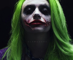 joker, mykie, and glam and gore image