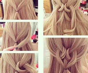 hair and heart style image