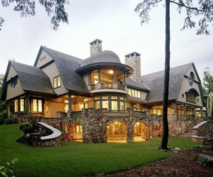 house, big, and mansion image