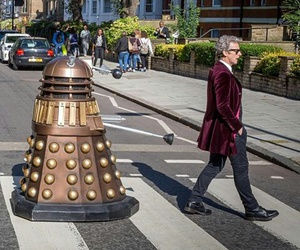 abbey, Dalek, and doctor image