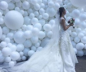 wedding, white, and Dream image