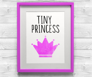etsy, pink art, and baby shower gift image