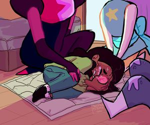 connie, steven universe, and amethyst image