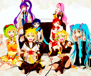 vocaloid, meiko, and anime image