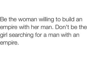 quote, empire, and woman image