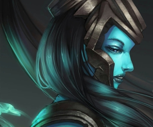 league of legends and kalista image