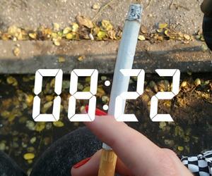 cigarette and lockscreen image