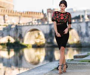 rome, look of the day, and ootd image