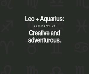 aquarius, astrology, and horoscope image
