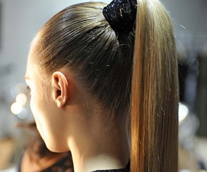 hair, model, and blonde image