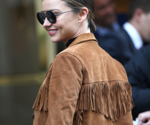 candid, miranda kerr, and smile image