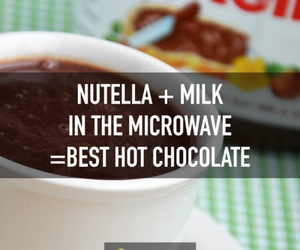 nutella and life hacks image