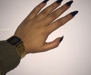 black, casio, and claws image