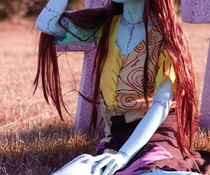 cosplay, sally, and Halloween image