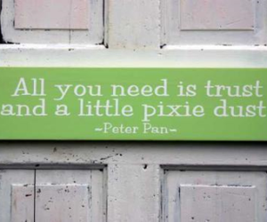 pixie, qoute, and peter pan image