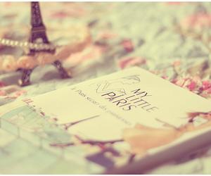 paris, book, and pearls image
