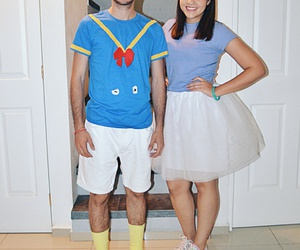 boyfriend, costume, and couple image