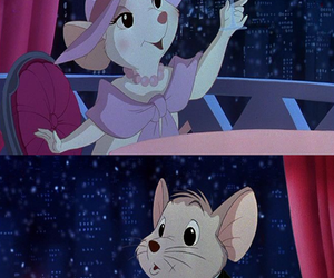 1990, walt disney, and the rescuers down under image