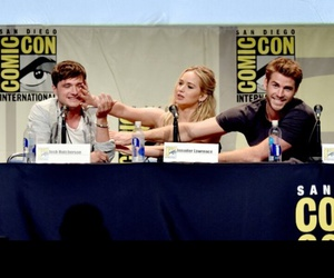comic con, funny, and Jennifer Lawrence image