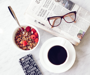 breakfast, healthy, and coffee image