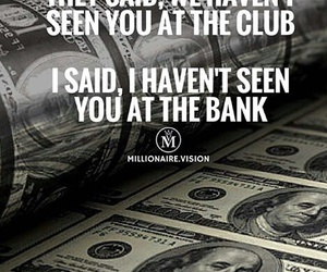 Bank, club, and money image