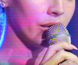 glow, grunge, and singer image