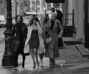 Carrie Bradshaw, miranda hobbes, and new york city image