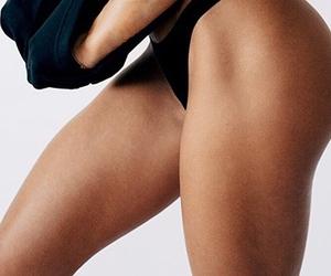 legs, panties, and tan image