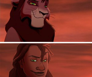 disney, animal, and human image