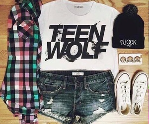 teen wolf, fashion, and outfit image