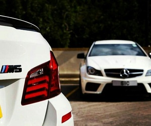 bmw, mercedes-benz, and m5 image