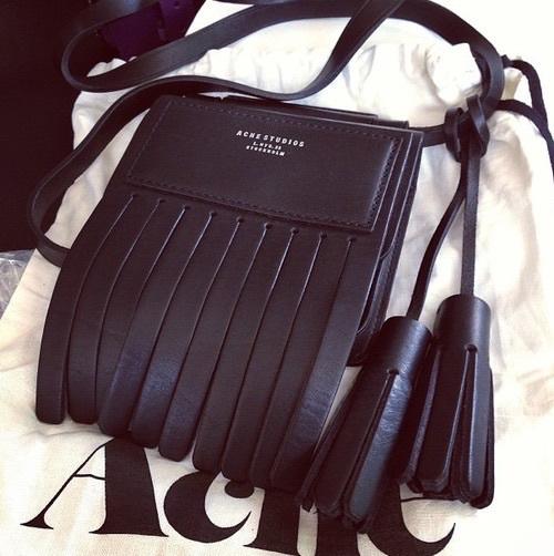 fashion, bag, and acne image