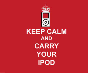 ipod and red image