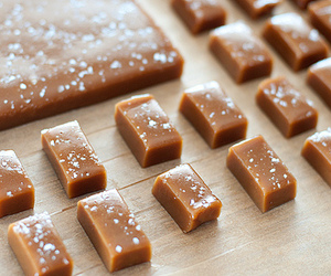 food, caramel, and candy image