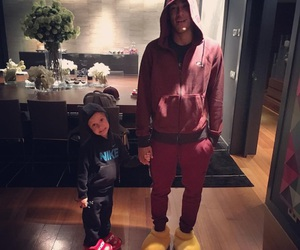 neymar, davi lucca, and son image