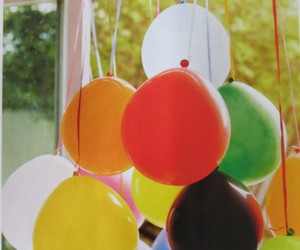 balloon, decor, and festa image