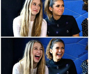 Nina Dobrev, taissa farmiga, and actress image