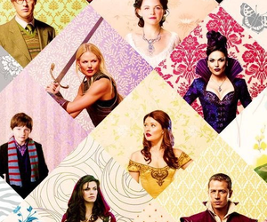 once upon a time, emma swan, and snow white image