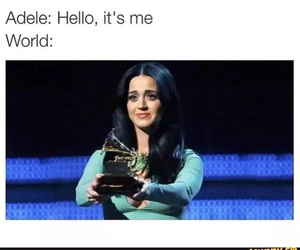 Adele, hello, and funny image