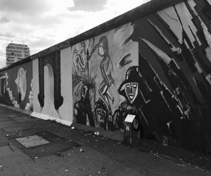 berlin, berlin wall, and berlin mauer image